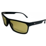 TOMMY HILFIGER Sports, Rectangular, Wrap-around Sunglasses(Yellow)