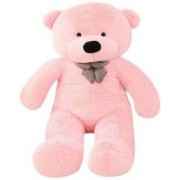 Omex 5 Feet BIG Stuffed Spongy Teddy Bear Cuddles Soft Toy For Kids 152 Cm - Pink