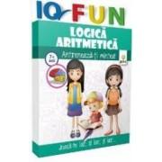 IQ Fun - Logica. Aritmetica - Antreneaza-ti mintea 7 ani+