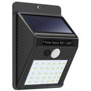 Lampa solara de perete cu senzor miscare 30 LED-uri SMD