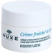 Nuxe Crème Fraîche de Beauté crema hidratante y calmante para pieles normales con tendencia a la irritación 50 ml