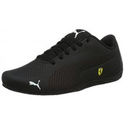 Puma Unisex Sf Drift Cat 5 Ultra Black and Rosso Corse Sneakers - 4 UK/India (37 EU)