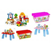 Xuzhou Fanpusi Goods Co.,Ltd T/A Top Good Chain From £16.99 instead of £89.99 for a children's toy building blocks set from TopGoodChain - save up to 81%