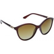 Gio Collection Cat-eye Sunglasses(Brown)