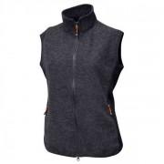 Ivanhoe of Sweden - Women's Thi Vest - Gilet en laine mérinos taille 42, noir