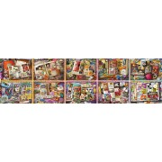 Puzzle Ravensburger - Disney Mickey - 90 Years, 40320 piese (17828)