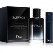 Dior Sauvage lote de regalo I. eau de toilette 100 ml + eau de toilette recargable 10 ml