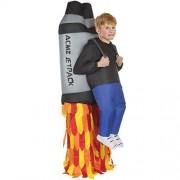 Morph MCKROIJP Boys Inflatable Costume, One Size