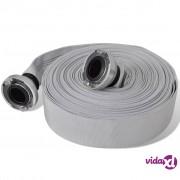 vidaXL Plosnato vatrogasno crijevo 20 m sa spojkama C-storz 2 inča