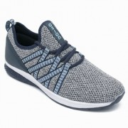 Asian Energy-01 Grey Blue Training Shoes For Men