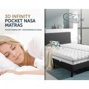 Slapen Online Sleeptime matras 3D Infinity pocket NASA 90 x 200