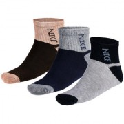 Avyagra Presents Durby Range of Premium Ankle Socks-Set of 3