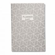 Planner Caderno Anual 20 Folhas - Cinza claro