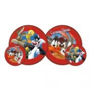 Looney Tunes piros labda, 23 cm