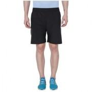 Adidas Navy Polyester Lycra Shorts