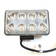 Proiector LED Auto Offroad 8 LEDuri 24W 12V/24V Dreptunghiular