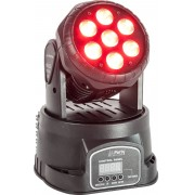 Party Light & Sound Moving Head Wash LED 7x8W RGBW