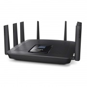 ROUTER, Linksys EA9500, Max-Stream, Wireless-AC5400, Tri-Band, Roaming, 8x Gigabit, 2.4+5.0+5.0 GHz, USB3.0
