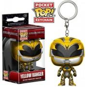 Funko Pop Keychain Power Rangers Yellow Ran