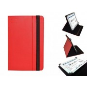 """Hp Slate 8 Pro Cover, Handige Standen Hoes, Multi-stand Case, rood , merk i12Cover"""
