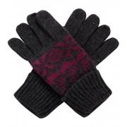 ALPINE PRO LORE Uni rukavice UGLM011411 fuchsiová M