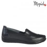 Pantofi dama, din piele naturala 231406/118120/Negru/Bianca