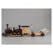 Lokomotiva s vagónem