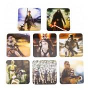 Episode VII 3D Coasters