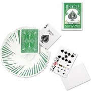 Bicycle Deck (808) Poker Green