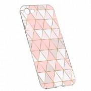 Husa Silicon Transparent Slim Mozaic 94 LG Q6