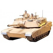M1a1 Abrams 120mm Gun Main Battle Tank - 1:35 Scale Military - Tamiya