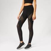 adidas Women's Warp Knitted Tights - Black - L - Black