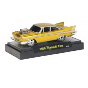 1958 Plymouth Fury M2 Machines Ground Pounders 1:64 Release 1