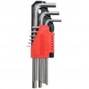 YATO Комплект хексагарамни ключове, 9 бр, 1,5 - 10 мм Cr-V