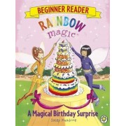 Rainbow Magic Beginner Reader: A Magical Birthday Surprise, Paperback