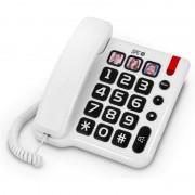 SPC Comfort Numbers Telefone Fixo Branco