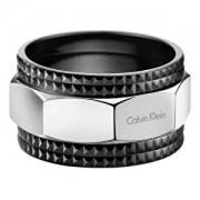 Calvin Klein Inel din oțel High KJ4JBR2001 pentru bărbați 60 mm