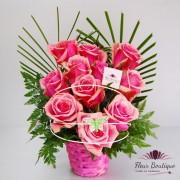 """Cos trandafiri """"Violet Rose"""""""
