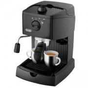 Еспресо машина DeLonghi EC 146.B, Ръчна, 1100 W, 15 бара, 1 л, Cappuccino System, Черна