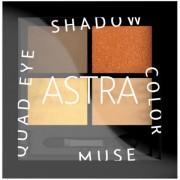 Astra - Color Muse Quad Eyeshadow Palette Occhi Metal e Mat n.004 - New Vintage