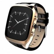 """X01S 1.54 """"a prueba de agua Smart Watch Android 5.1 telefono movil MTK6580 con 1GB RAM 8GB ROM / GPS-dorado"""