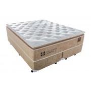 Colchão Sealy Molas Posturepedic Doux Confort - Colchão Queen Size - 1,58x1,98x0,36 - Sem Cama Box