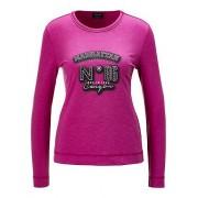 MADELEINE CANYON. T-shirt femme fuchsia / rose pâle