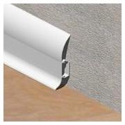 Plinta alba - PBC605 - LINECO din PVC pentru parchet - 60 mm