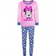 Paw Patrol Roze Disney velours Minnie Mouse pyjama voor meisjes