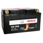 Bosch YT7B-4/YT7B-BS 12V 7Ah 120A AGM bal+ motorkerékpár akkumulátor - 507901