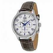 Seiko Chronograph White Round Watch -SPC155P1