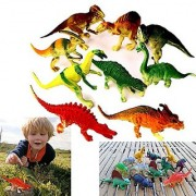 Dazzling Toys Large Assorted Dinosaurs 4-5 Larger Size Dinosaur Figures - Pack of 24