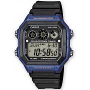 Ceas barbatesc Casio AE-1300WH-2AVEF Collection Cronograf 10 ATM 42 mm
