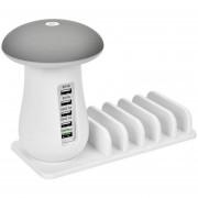 La Lámpara De La Seta LED Para Múltiples Dispositivos Inteligentes